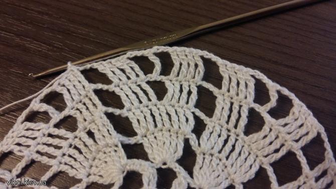 Салфетки крючком круглые вязание для начинающих