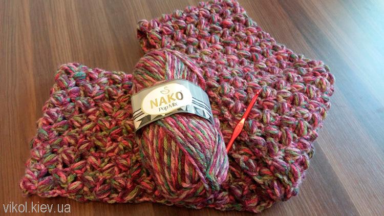 Какие нитки выбрать для шарфа