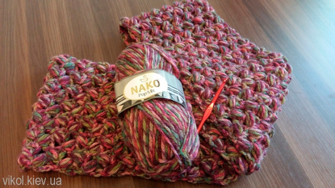 Женские и детские шарфы снуды купить в Киеве