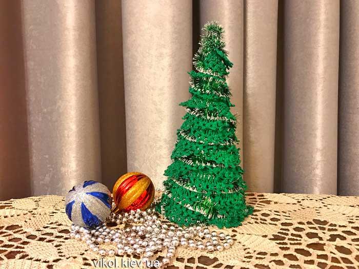 Как вязать новогодние елочки крючком