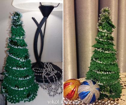 Интерьерные елочки для нового года купить на заказ Киев