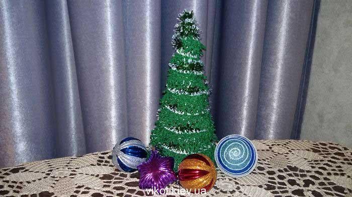 Вязание новогодней ёлочки крючком своими руками мастер класс