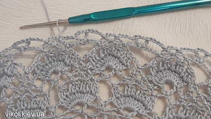 Вяжем салфетки по схеме пошагово крючком