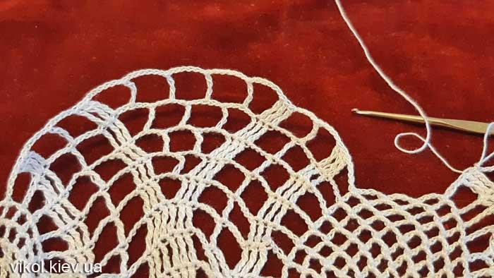 Крючком салфетки вязание на заказ Нежность хризантемы