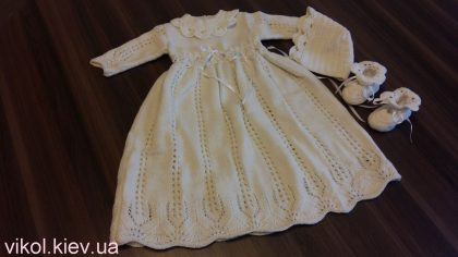 Романтический наряд для крещения девочки купить