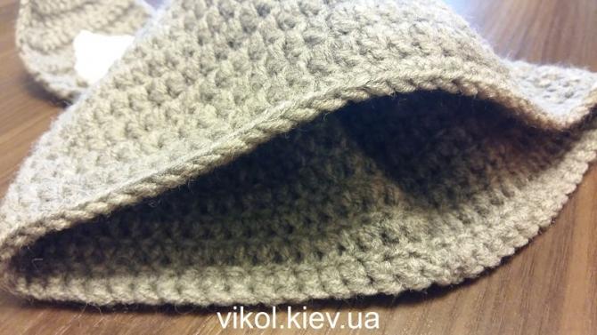 Шапка Зайца вязанаие крючком под костюм для фотосессиий новорожденных на заказ в Киеве
