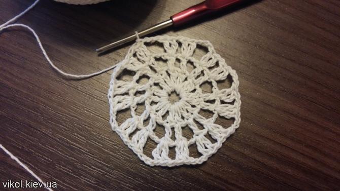 Салфетка маленькая вязание для новичков