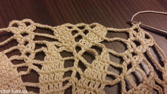 Крючком вяжем салфетки с пошаговым вязанием