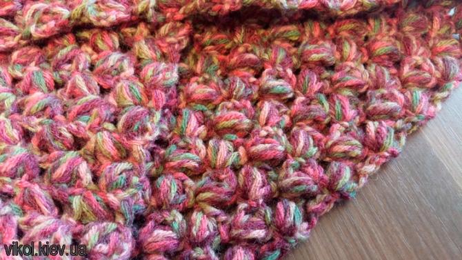 Вязание на заказ шарфа снуда в Киеве под свои размеры