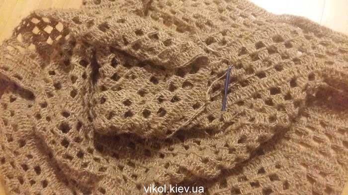 вязание джутового коврика крючком купить в Киеве