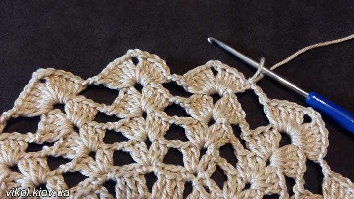 Вязание подставок под горячее плотной пряжей