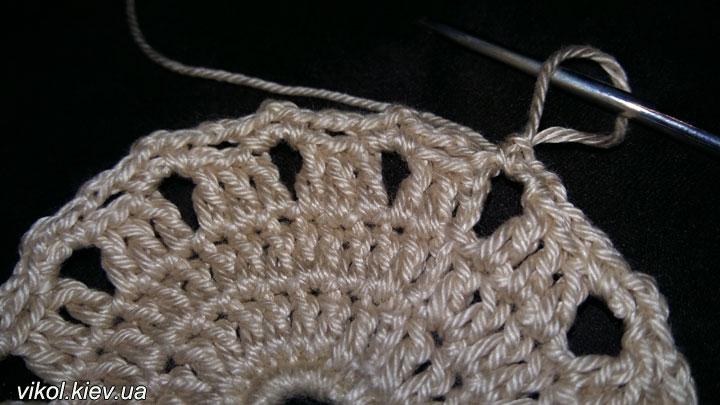 Пошаговое вязание подставок под горячее крючком