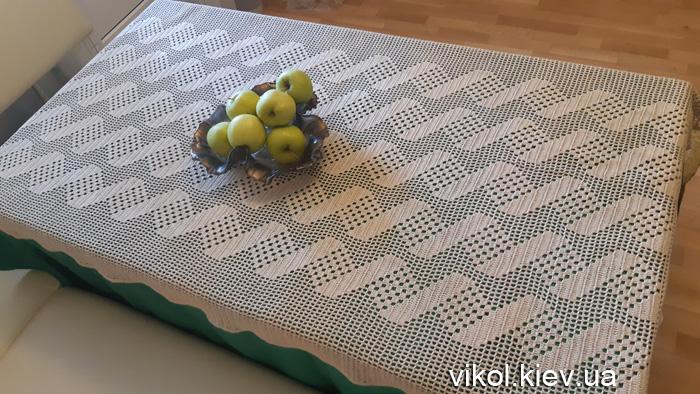 Вязание прямоугольных скатертей на заказ в Киеве